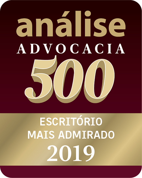 Selo Advocacia 500 - Escritório mais admirado